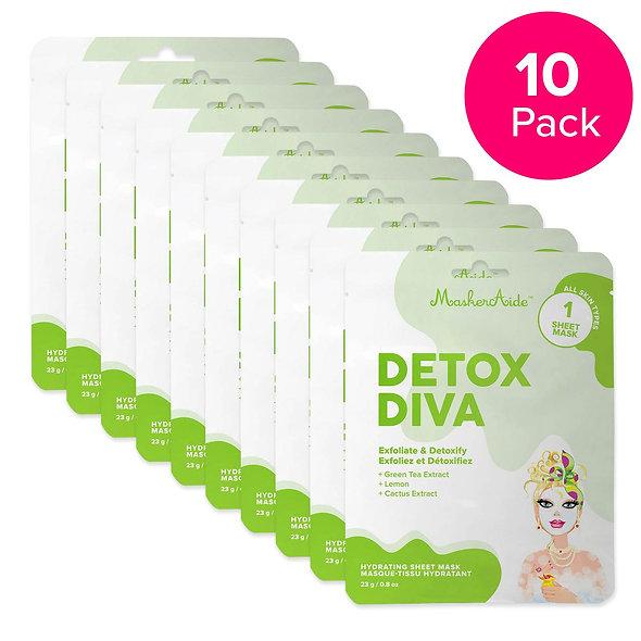 Detoxifying Face Mask (10 pack)