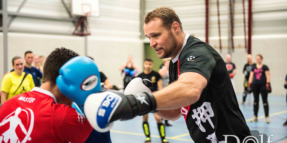 UFW Kickboxing-instructeur