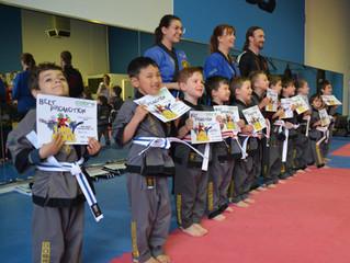 September Martial Art Grading