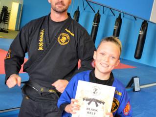 New Junior Black Belt