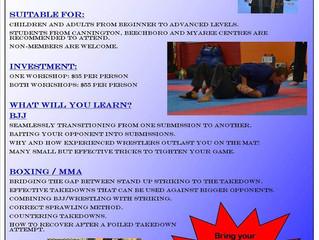 BJJ & MMA Double Workshop