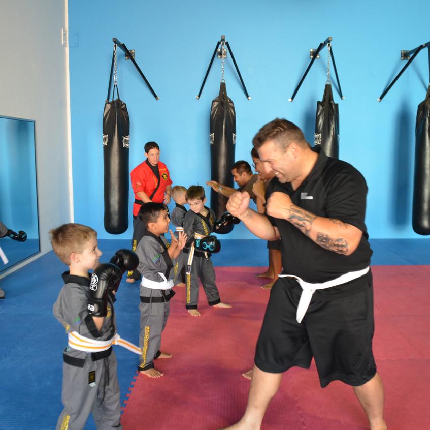 Student Parent Self Defence Week 1