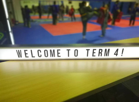 Welcome To Term 4!