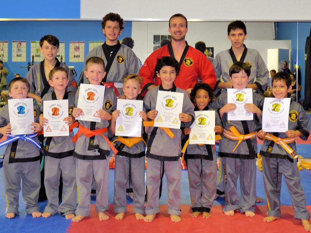 6 - 9 Beginner Martial Art Students