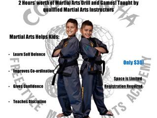 Martial Arts School Holiday Program