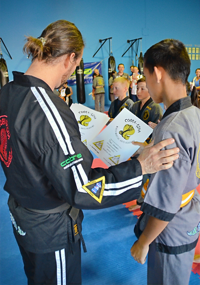 Young Adult Martial Arts Skill Developme