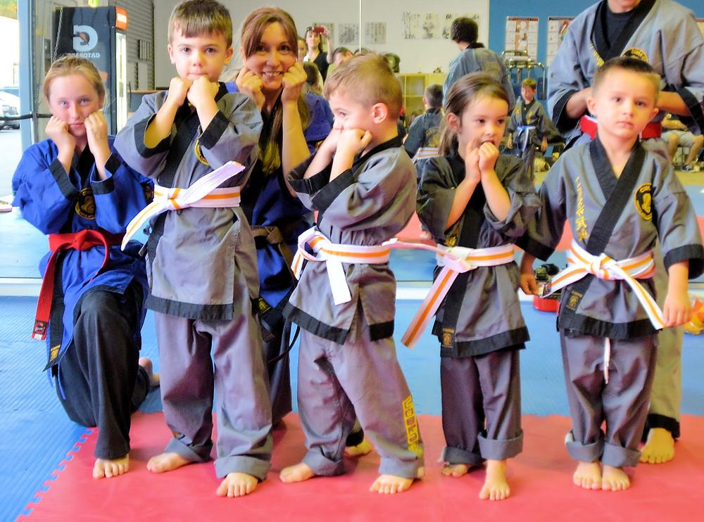 Little Cobras at Cobra Martial Arts Perth
