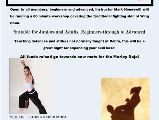 Kung Fu Wing Chun Workshop