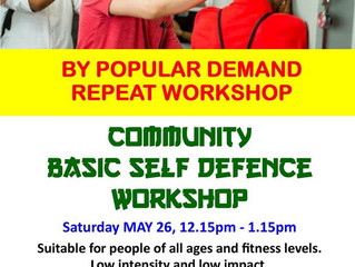 FREE Community Self Defence Workshop
