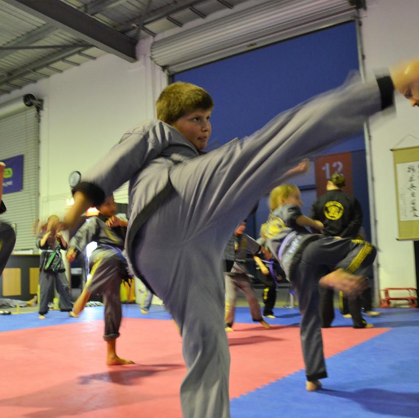 Junior Self Defence
