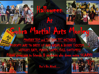 Halloween at Cobra Martial Arts