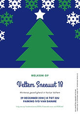 affiche Veltem Sneeuwt 2018