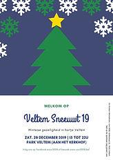 affiche Veltem Sneeuwt 2019