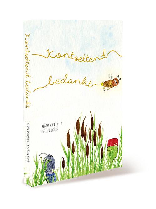 prentenboek 'KONTZETTEND BEDANKT'