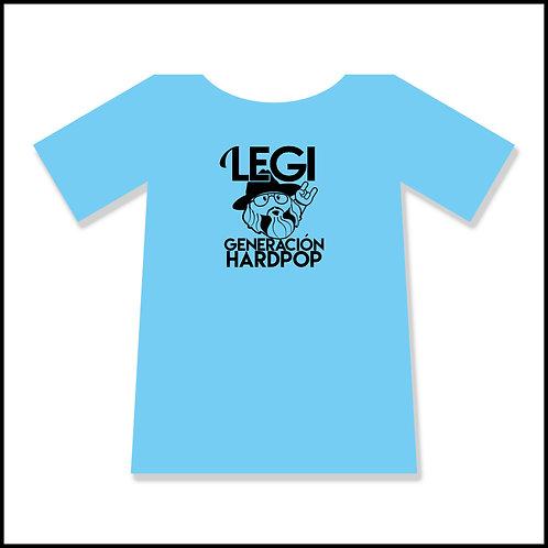 Camiseta azul - Generación Hardpop