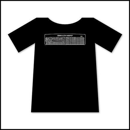 Camiseta Negra - Peinamos canas