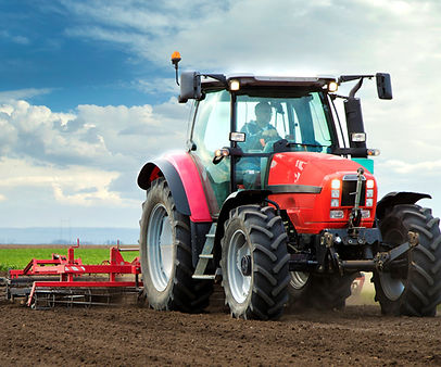 close-up-of-agriculture-red-tractor-cult