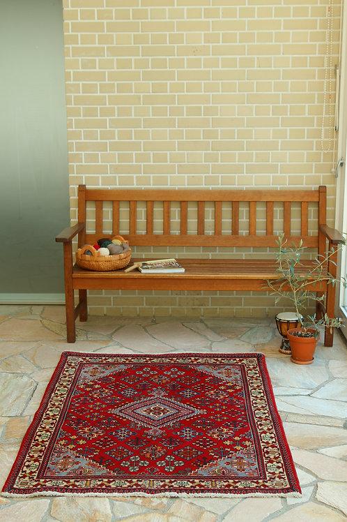 在庫◎ ペルシャ家庭織り絨毯(品番/tfg15710)