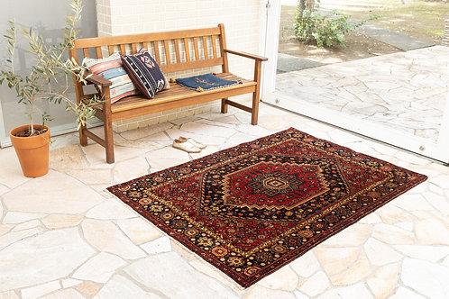 在庫◎ ペルシャ家庭織り絨毯(品番/tfg18199)