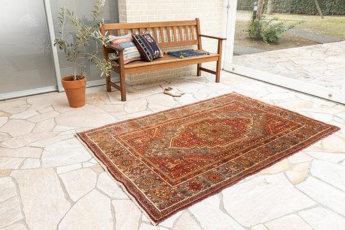 在庫◎ ペルシャ家庭織り絨毯(品番/tfg18196)