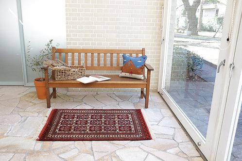 ペルシャ家庭織り絨毯(品番/b13536)