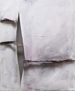 Flaw I, Acrylic on Canvas,120x100cm