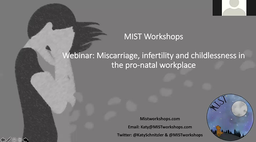 Online Webinar: Miscarriage, Infertility & Childlessness in the Pro-Natal Workplace