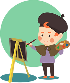 Man who is painting