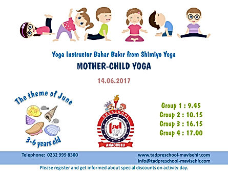 Mother-Child Yoga Event