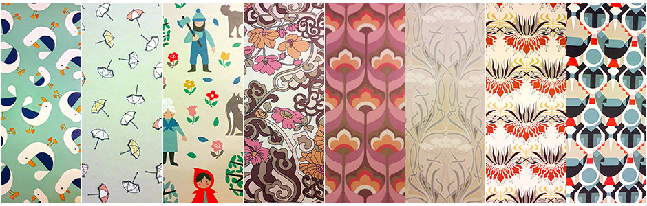 Papiers cadeaux jolis motifs de dessin collections
