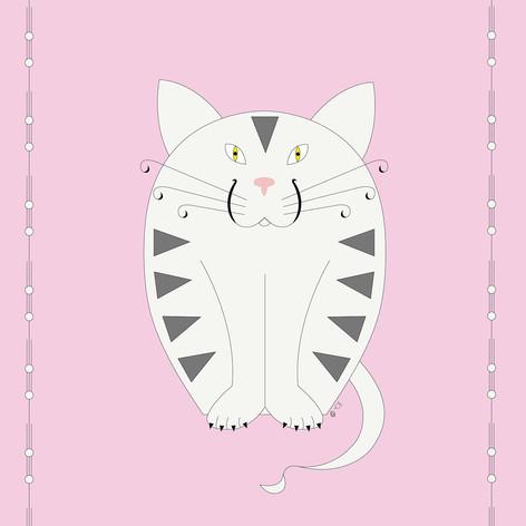 Le chat affectueux