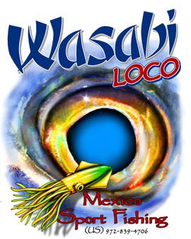 WASABI LOCO FISH EYE DESIGN in progress