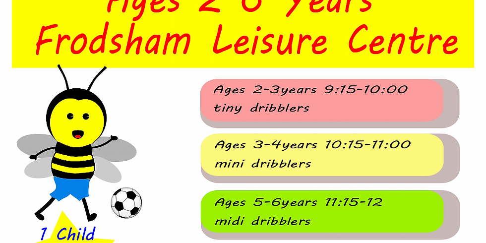 Toddler and Junior Football Sessions