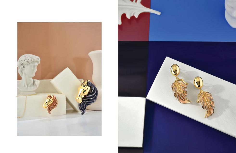 Gold Book Magazine Innova Jewellery Editorial