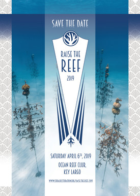 Raise the Reef 2019 Save the Date Postca