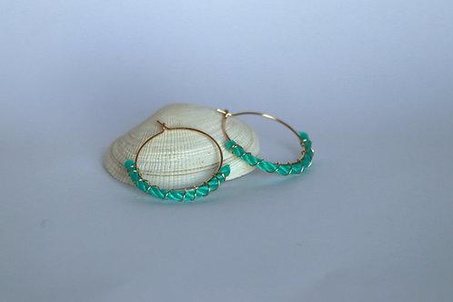 Ghost Net Hoops (Crescent)