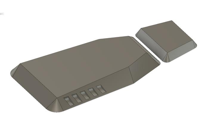CADによるモールド作成