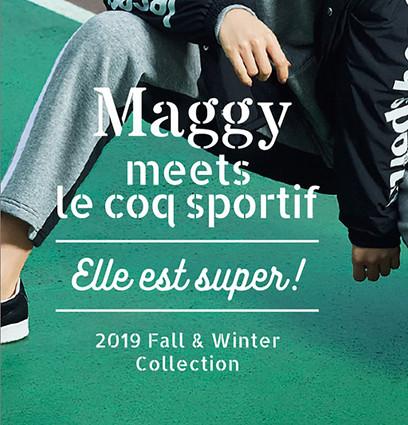 Maggy meets le coqsportif