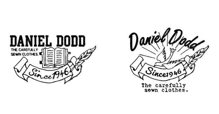 DANIEL DODD カジュアルロゴ