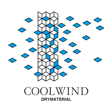 COOLWIND 通気性表示ロゴ