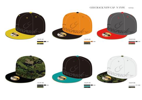 GEECRACK CAP Design
