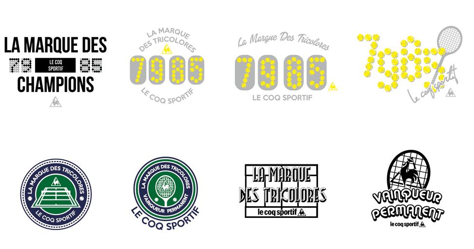 Le coq tennis logo