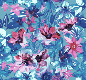 MAGGY 19SS FLOWER GRAPHIC