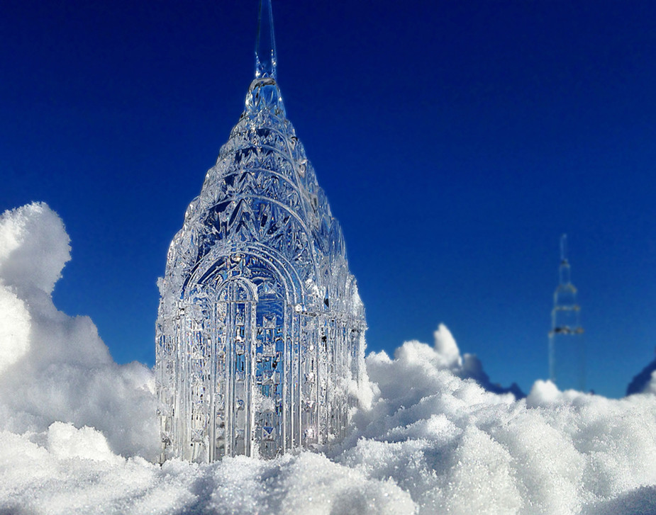 Clear Sculpture #15, 22 x 28 inches
