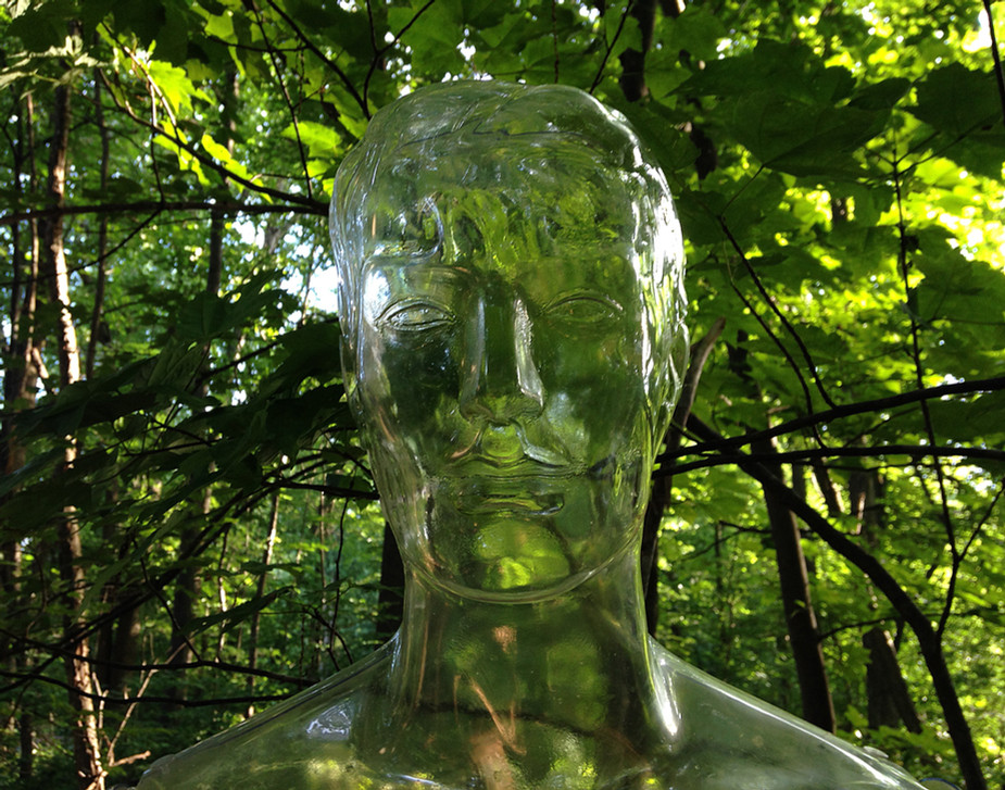 Clear Sculpture #23, 22 x 28 inches