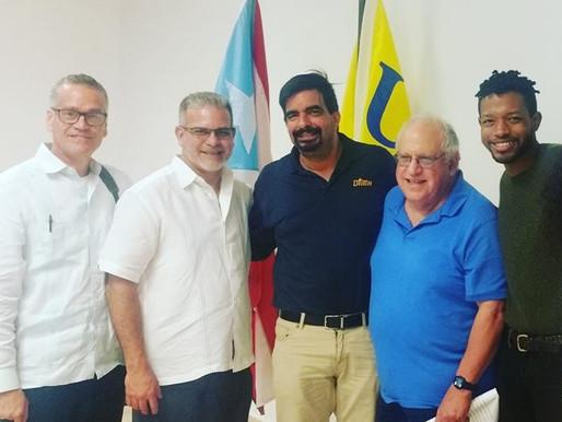 Llegan a Puerto Rico líderes que se opusieron a la Junta de Control Fiscal en Detroit