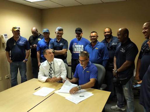 UTIER y AEE firman acuerdo de los celadores