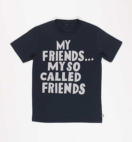 by parra [ バイ パラ ] so called friends t-shirt Nmidnite navy Tシャツ