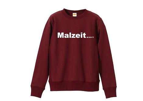Malzeit...®【マルツァイト】 Original Logo  Crewneck