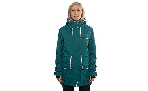 CLWR WEAR カラーウェア  W's UP Parka Jacket BOTTLE GREEN スノーボード ウェア ジャケット レディース 女性